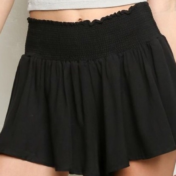 a6b51c3dd9 Brandy Melville Shorts | Black Ross | Poshmark